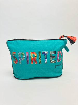 Load image into Gallery viewer, 7 x 11 GEMINI: Spirited Zodiac Pouch