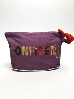 Load image into Gallery viewer, 7 x 11 SCORPIO: Confident Zodiac Pouch