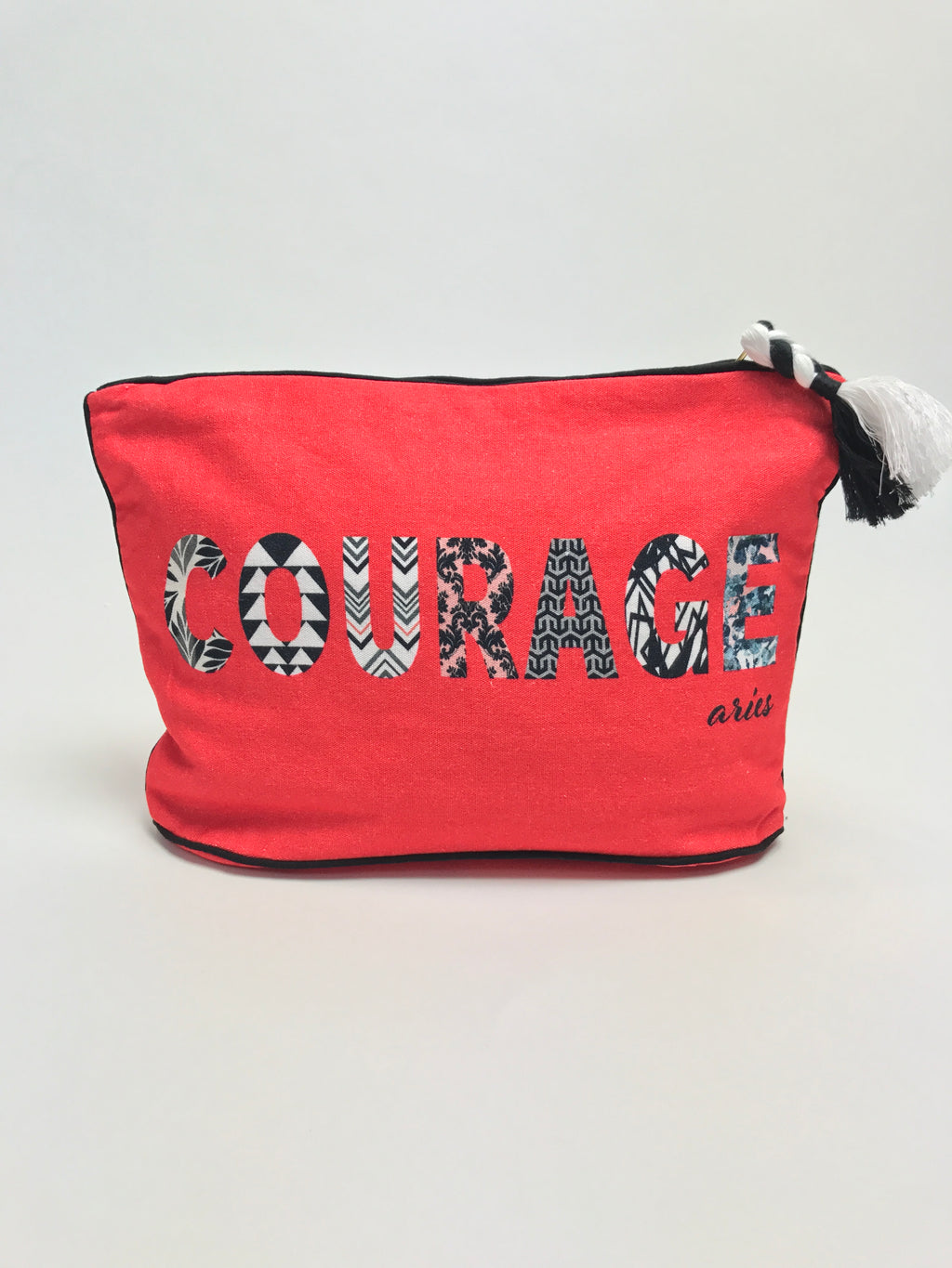 7 x 11 ARIES: Courage Zodiac Pouch