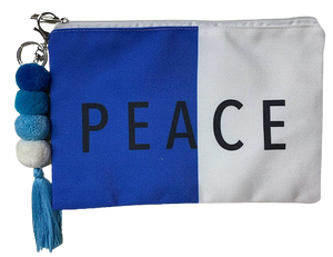 Peace Split Swim Pouch