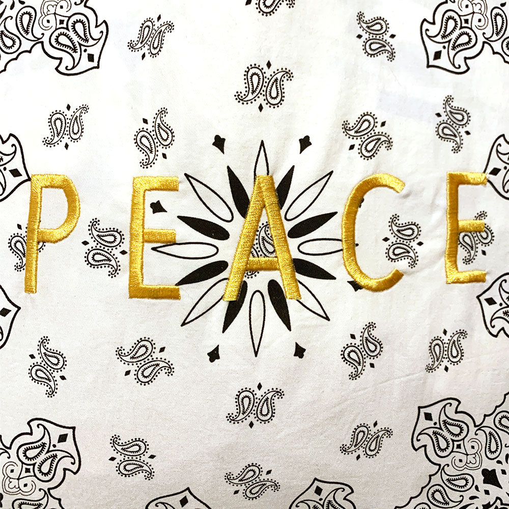 Load image into Gallery viewer, Peace Bandana Bag