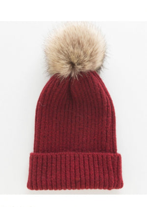 Load image into Gallery viewer, Fallon Hat - Burgundy