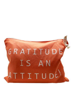 Load image into Gallery viewer, Gratitude is an Attitude Lulu Pouch
