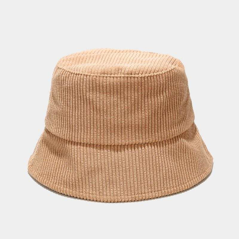 Load image into Gallery viewer, Cate Corduroy Bucket Hat : Camel