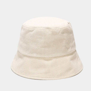 Load image into Gallery viewer, Cate Corduroy Bucket Hat : Ivory