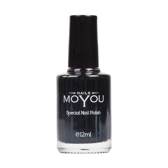 Black - MoYou Nail Fashion