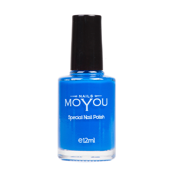 Blue - MoYou Nail Fashion
