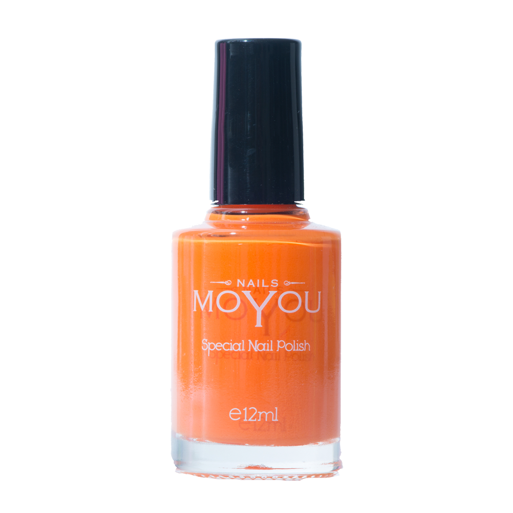 California Orange - MoYou Nail Fashion