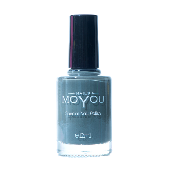 Down Grey - MoYou Nail Fashion