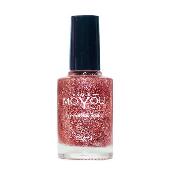 Glitter Top Coat - MoYou Nail Fashion