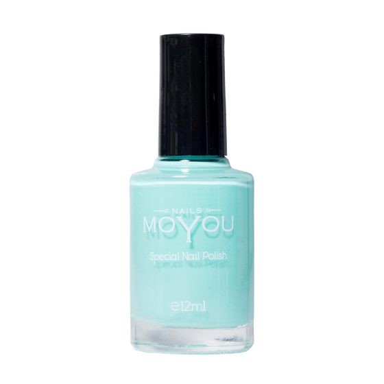 Powder Blue - MoYou Nail Fashion