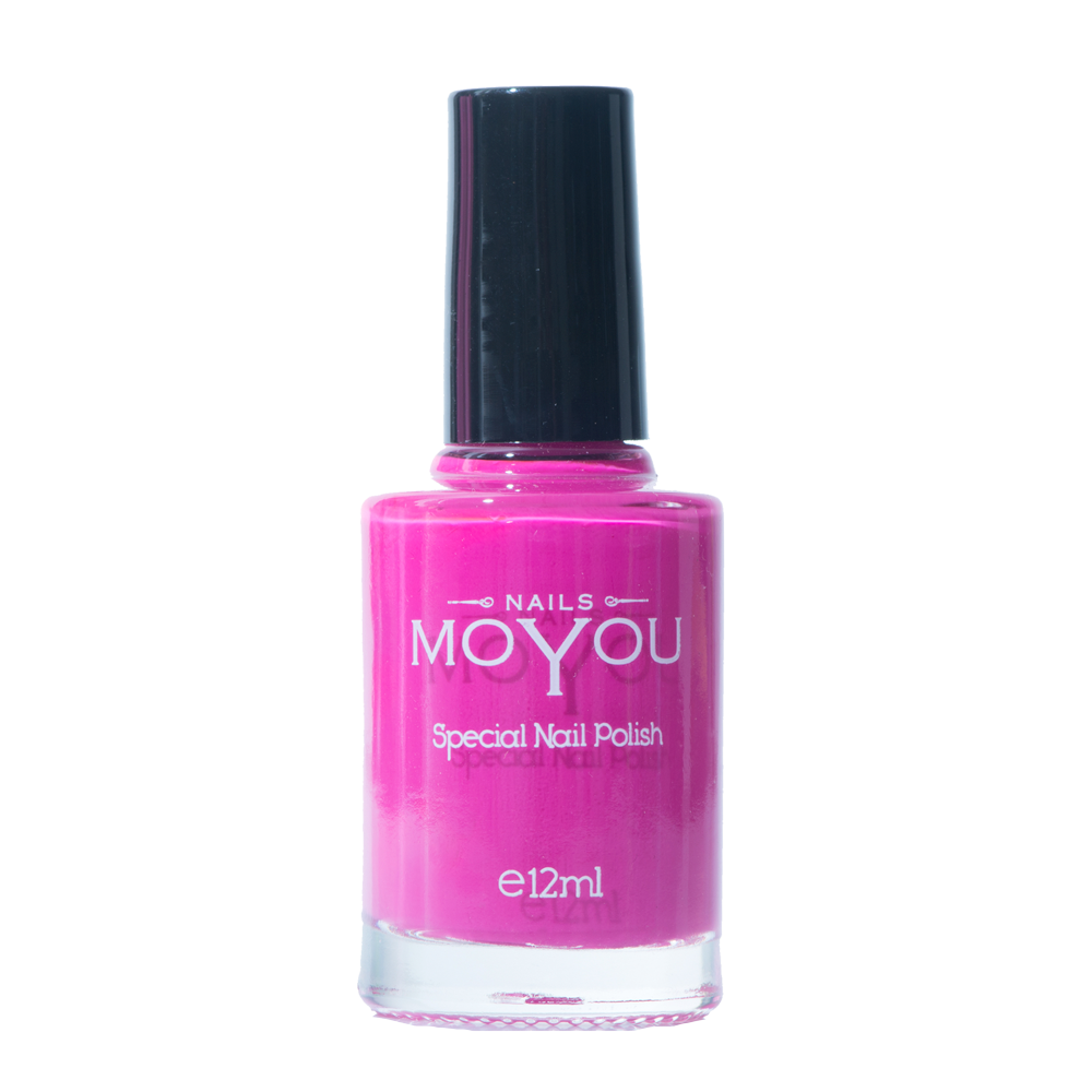 Shocking Pink - MoYou Nail Fashion