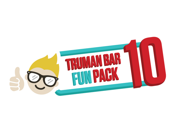 Truman Bar FUN PACK – 10 Bars (5% Off!)