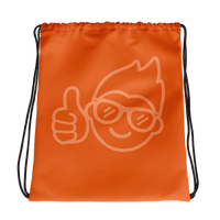 Be Epic Drawstring Bag Orange & Orange