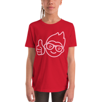 Be Epic Youth T-Shirt Red & Pink