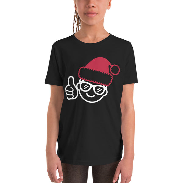 Be Epic Holiday Edition Youth T-Shirt Black & White/Red