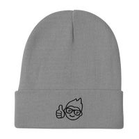 Be Epic Embroidered Beanie Grey & Black