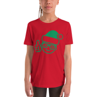 Be Epic Holiday Edition Youth T-Shirt Red & Green