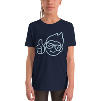 Be Epic Youth T-Shirt Navy & Blue