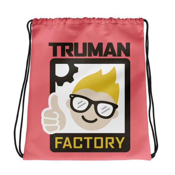 Truman Factory Drawstring Bag Pink