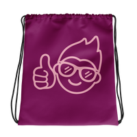 Be Epic Drawstring Bag Pink & Pink