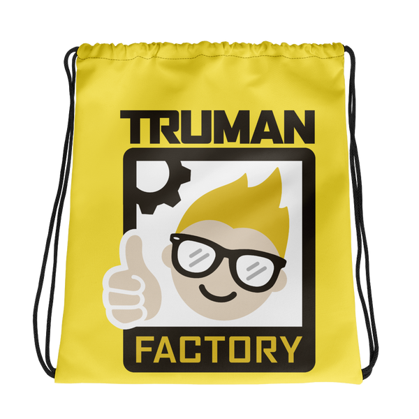 Truman Factory Drawstring Bag Sunshine Yellow