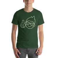 Be Epic T-Shirt Midnight Green & Green