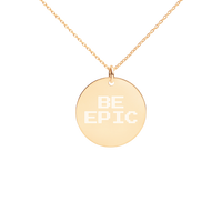 BE EPIC Disc Necklace