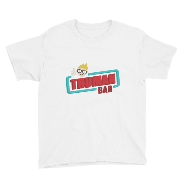 Truman Bar Youth T-Shirt White
