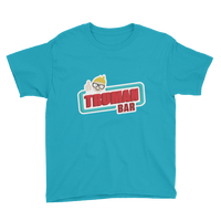 Truman Bar Youth T-Shirt Surf Blue