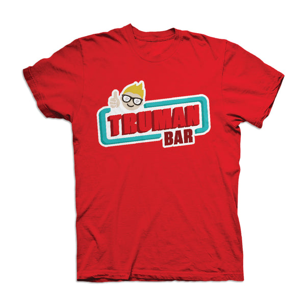 Truman Bar Chocolate Aroma Tshirt Red - It Really Smells Like Delicious Chocolate!