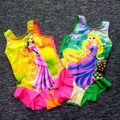 Princess One-Piece Swimming Suit