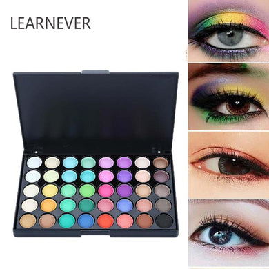 40 Colors Smoky/Warm Eye Makeup Matte Glitter EyeShadow