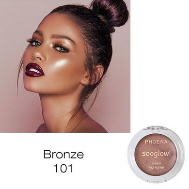 Bronzer Highlighter Shimmer Facial Makeup