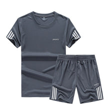 Mens Summer Track Suits Sets Sweatshirt+Pants