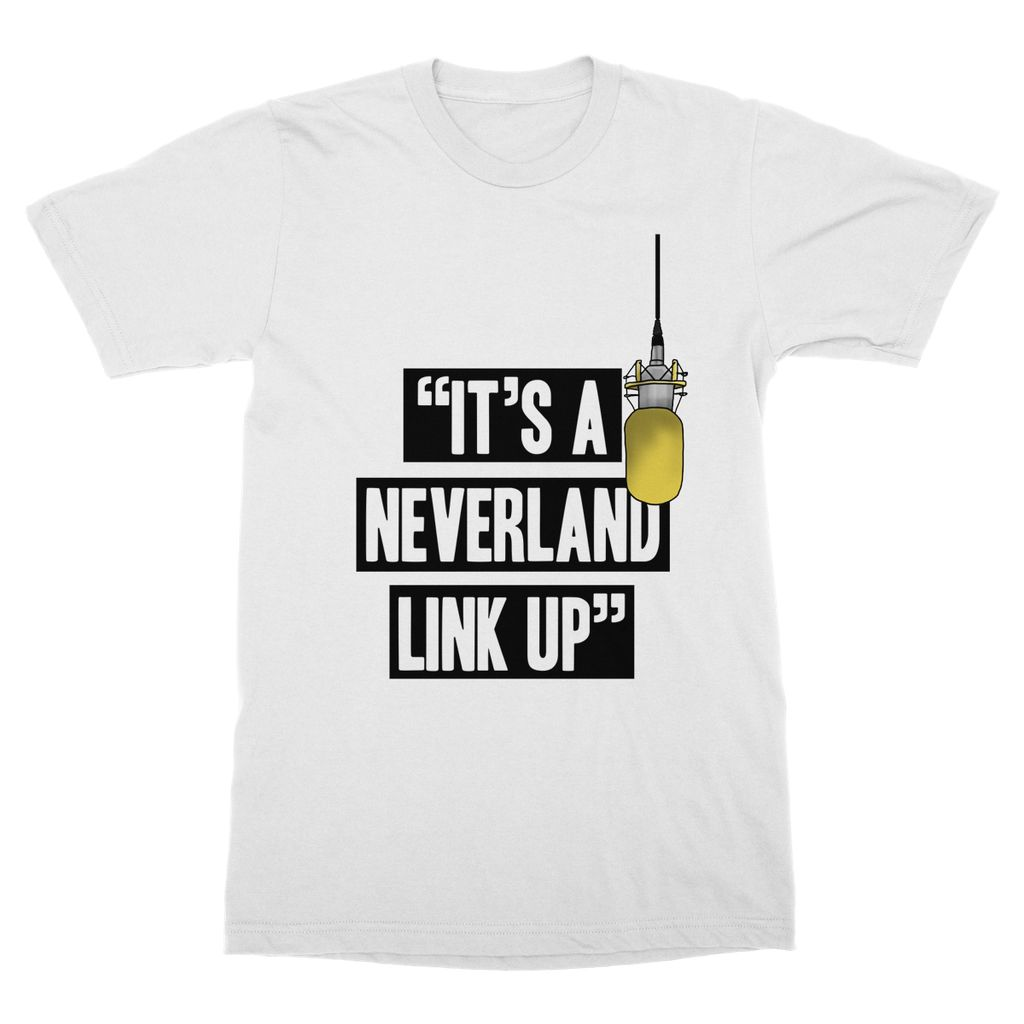 IT'S A NEVERLAND LINK UP T-SHIRT