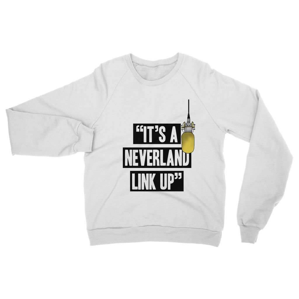 IT'S A NEVERLAND LINK UP SWEATSHIRT