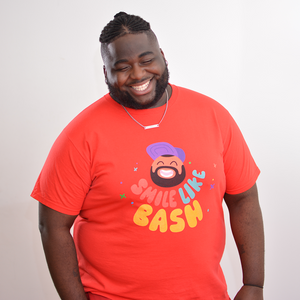SMILE LIKE BASH T-SHIRT
