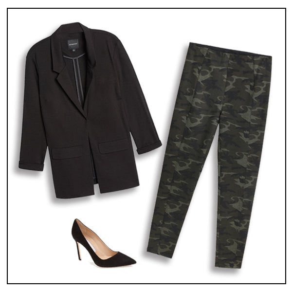 Hi-Rise Legging and Boyfriend Blazer are the PERFECT outfit! Shop now at Liverpooljeans.com