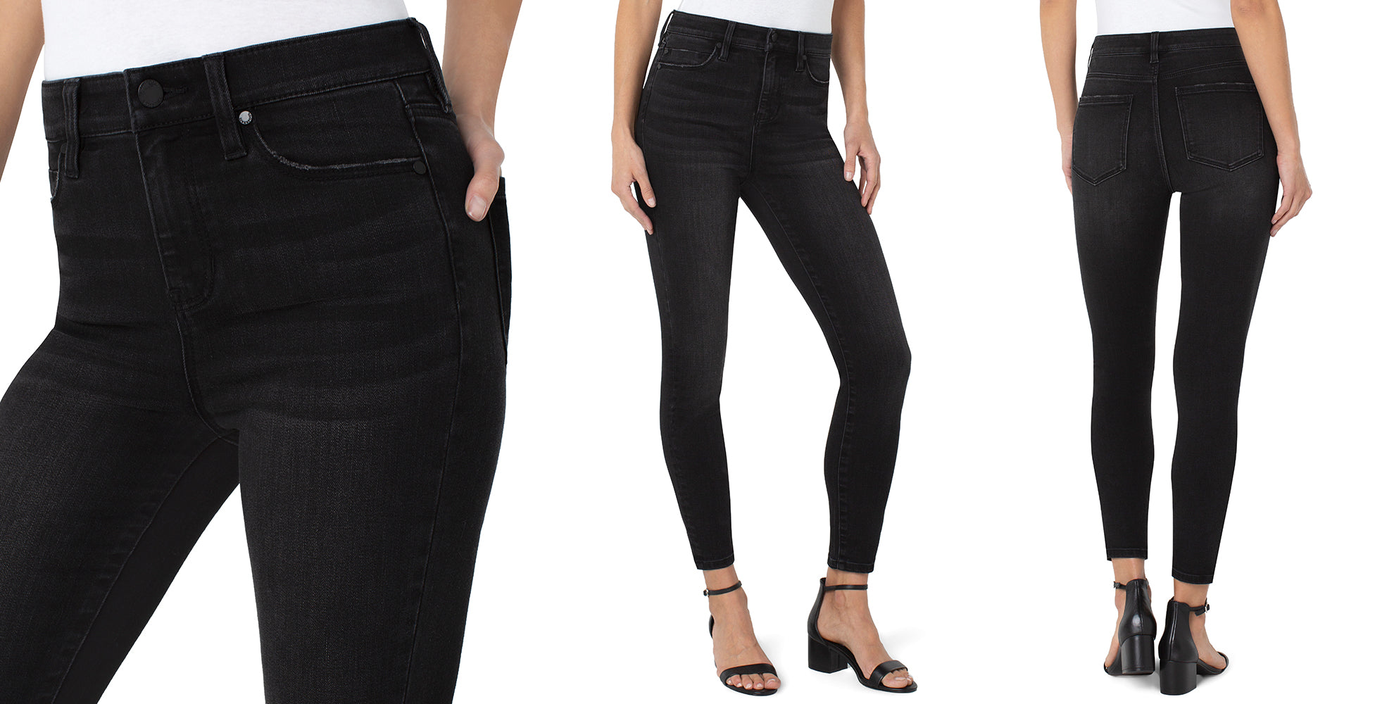 ECO ABBY HI-RISE ANKLE SKINNY - LIVERPOOL LOS ANGELES