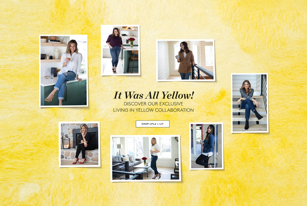 It was all Yellow! Discover our exclusive Living in Yellow Collaboration! Shop styles designed by the Living in Yellow team. Shop Now!