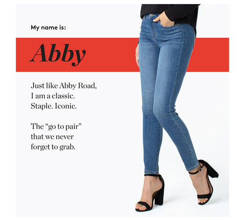 """Just like Abby Road, I am a classic. Staple. Iconic.  The """"go to pair"""" that we never forget to grab."""