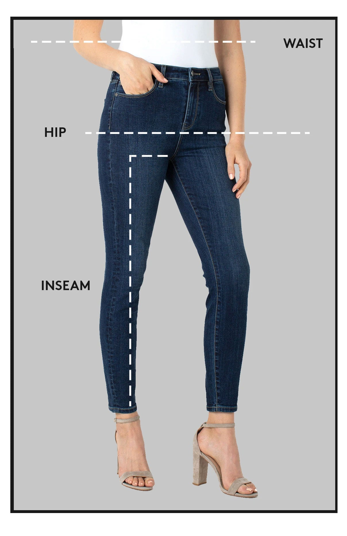 How to Measure Waist Hip and Inseam