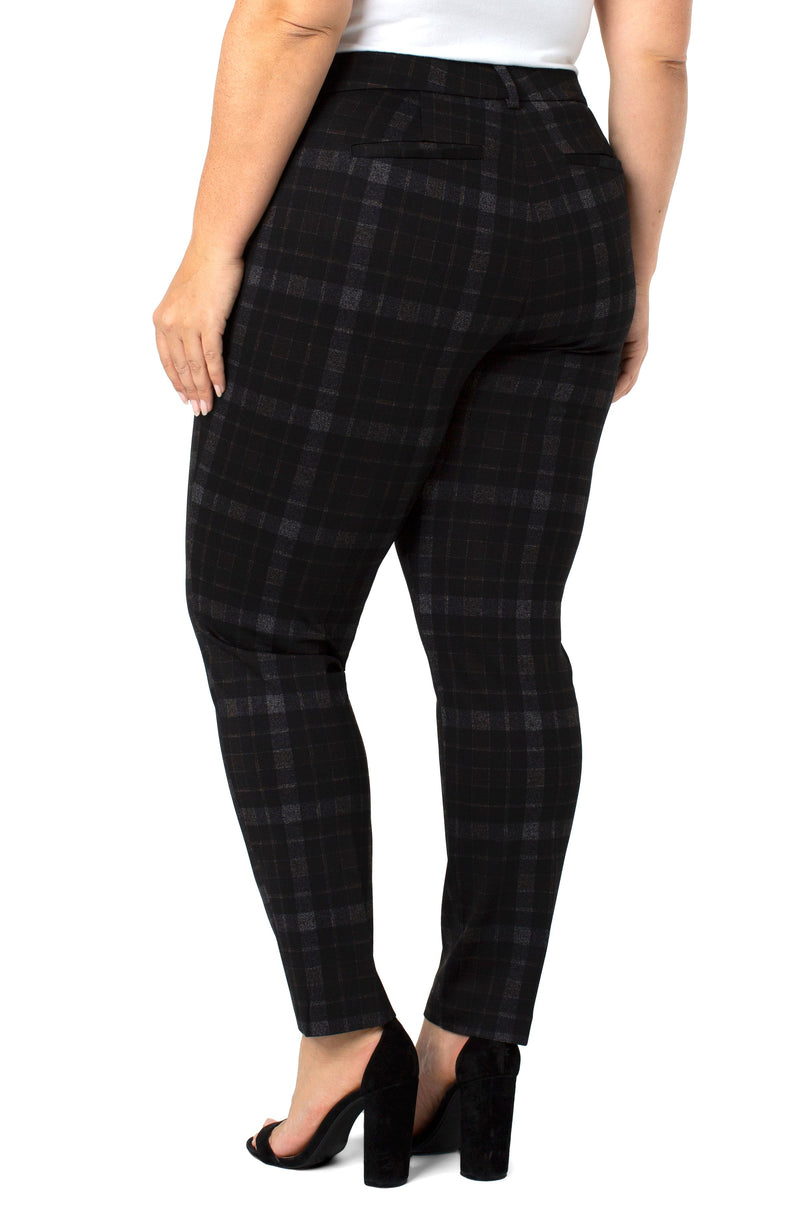 COPPER BLACK TARTAN PLAID