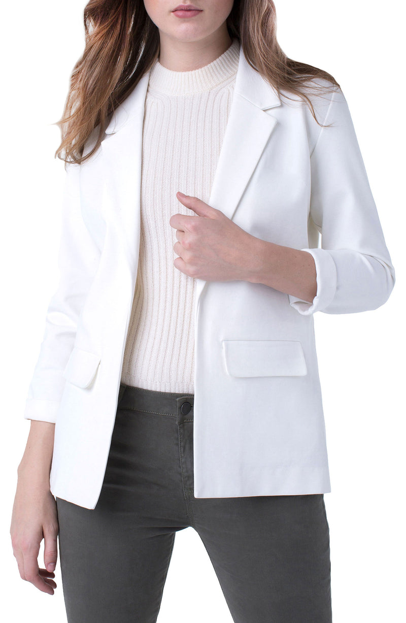 BOYFRIEND BLAZER SUPER STRETCH PONTE