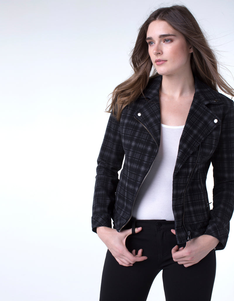 BLACK ICE PLAID