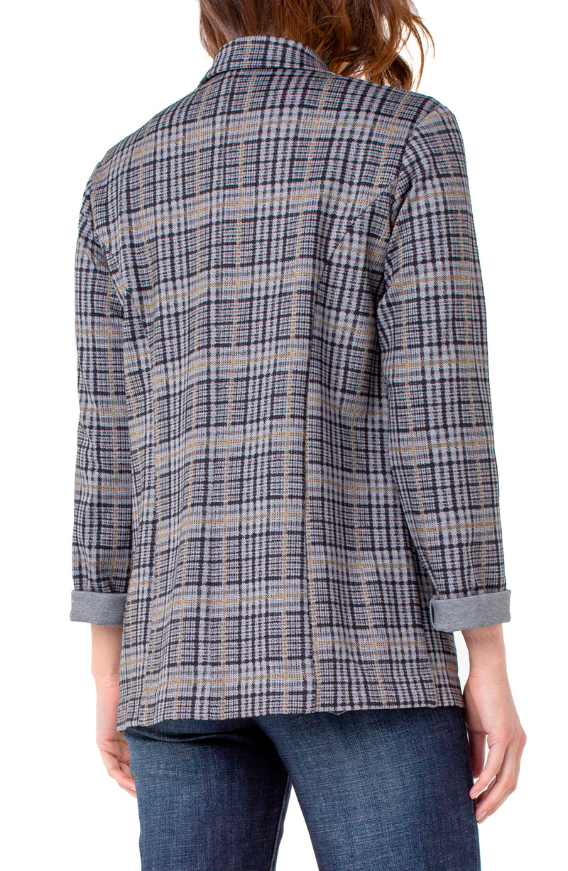 GREY BLACK GLEN PLAID-3