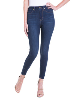 BRIDGET HIGH WAIST ANKLE HIGH PERFORMANCE DENIM