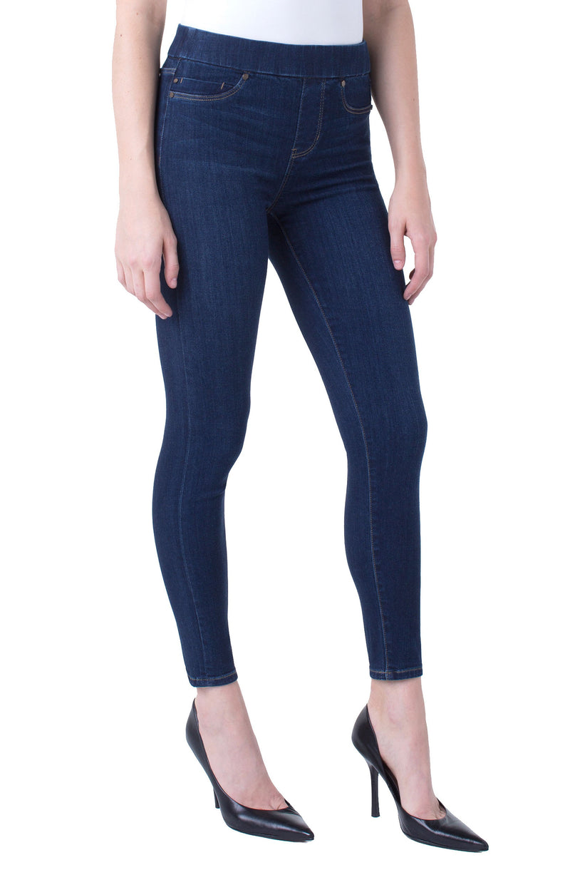 SIENNA ANKLE PULL-ON HIGH PERFORMANCE DENIM