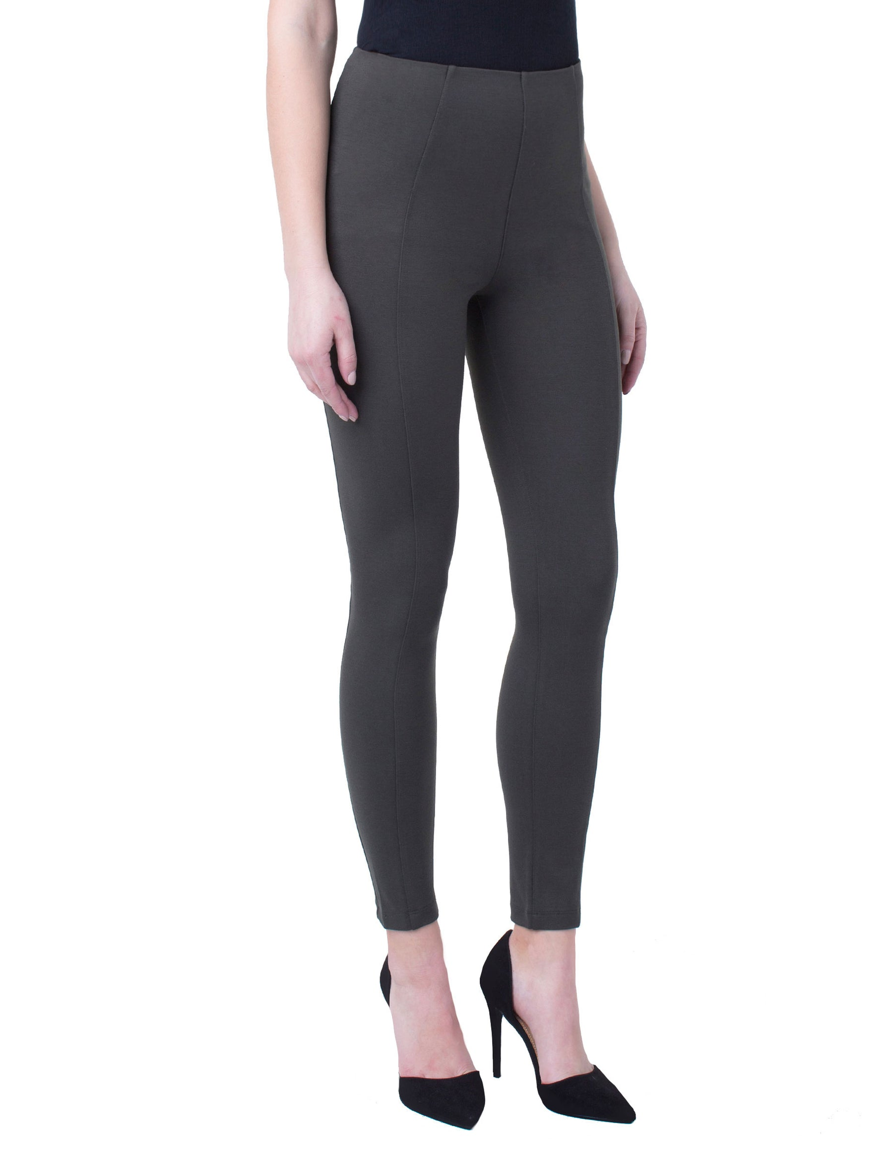 ef47dcce1fc REESE HIGH RISE ANKLE LEGGING SUPER STRETCH PONTE